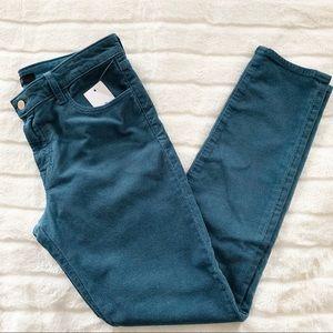NWT J Brand 811 Mid Rise Skinny Leg Corduroy Pants